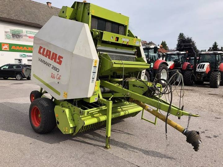 Claas variant 280 rotocut - 2005 - image 6