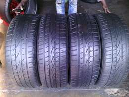 235/55/R19 on special each tyre is R800 in a good condition