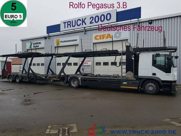 Iveco Stralis 420 Rolfo Pegasus Komplett Zug 8-10 PKW - 2008