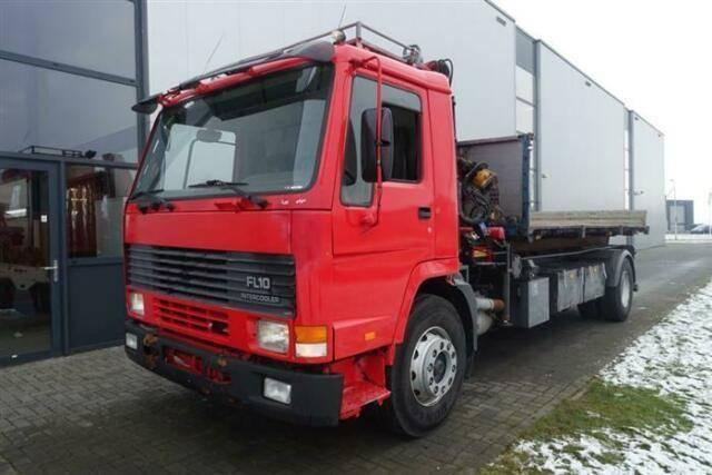 Volvo FL10.320 4X2 MANUAL HMF750 K2 CRANE/KRAN - 1994