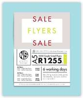 Flyers! Printing! Sale!