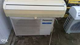 Panasonic 2HP Split units AC use by a white guy at ikoyi lagos