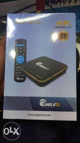 Smart Box Android eagle 4K