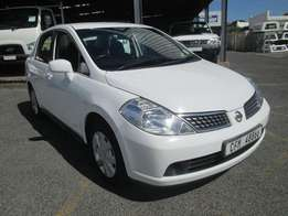 Automatic Nissan Tiida for hire