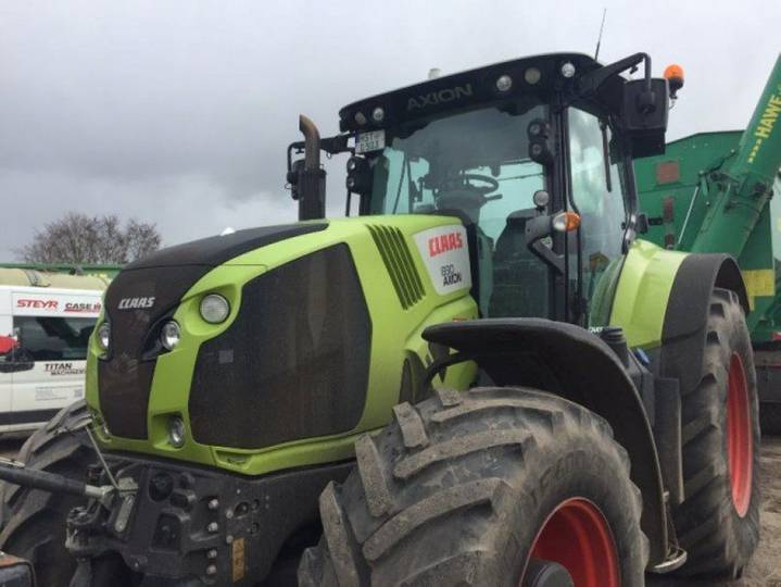 Claas axion 830 cmatic # frontkraftheber - 2015