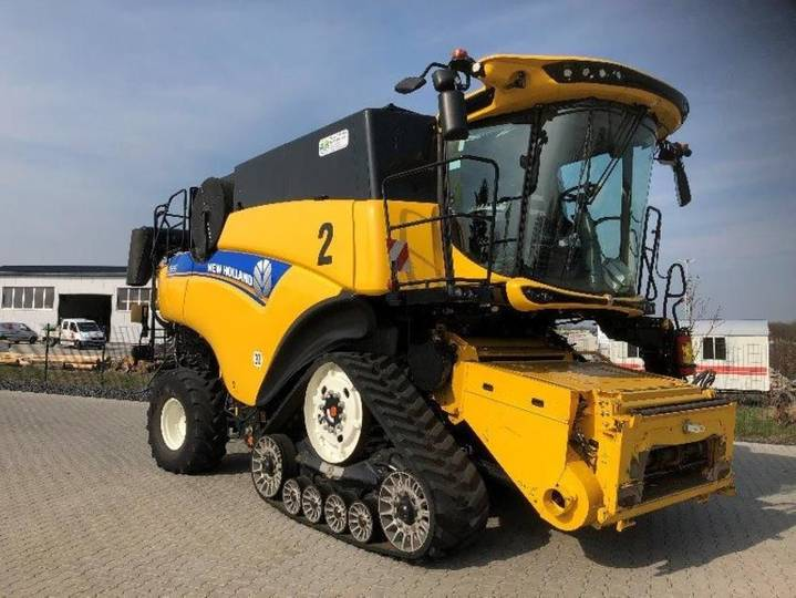 New Holland cr 9.90 scr smarttrax - 2016