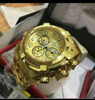 Invicta Subaqua Gold watch
