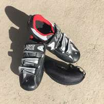 Lake Cycling Clip-On Shoes and Ocean Eyewear Photochromic Sunglasses