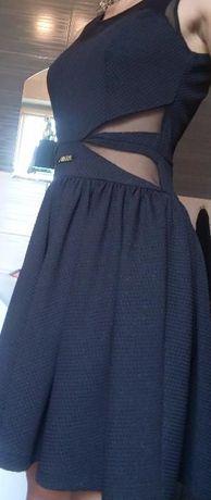 2098562e62 Czarna sukienka Avanti siatka Dobrzyca - image 3