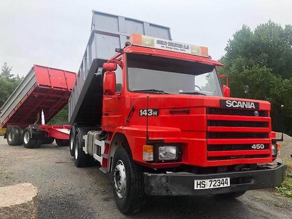 Scania T143hl6x2l - 1995