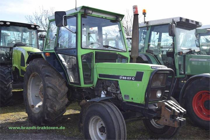 Deutz-fahr D 6507 C - 1983