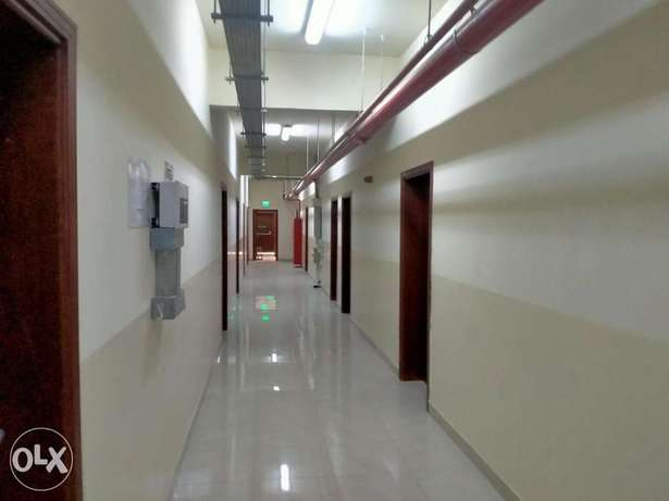 65 rooms and store in industrial area الريان -  1