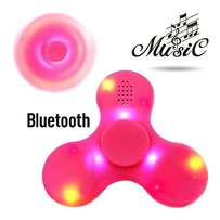 GENERAL Fidget Hand Spinner LED Light Bluetooth Speaker Music Focus T