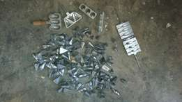 Fishing sinkers and moulds