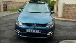 2015 polo7 tsi for sell, great condition