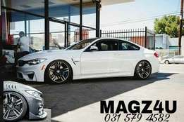MAGZ4U WHEEL AND TYRE EXPERTS. M4 Rep Wheels available in store