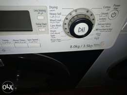 Samsung 8kg /3.5 washer & Dryer machine for give away price