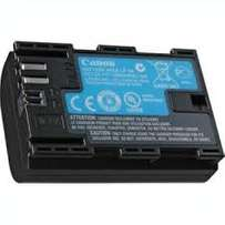 Lpe6 battery for canon cameras