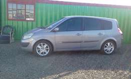a Renault Scenic 1.9 Dci 7 Seater 2006