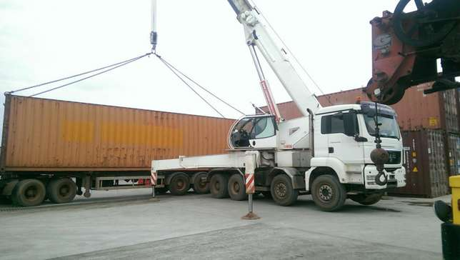 68 tons crane for rent Gwarinpa - image 1
