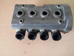 Kawasaki ZXR400 cylinder head with camshafts for sale.