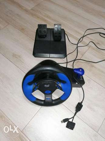 Steer wheel for computers games and ps2