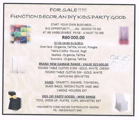 Function Decor And Diy Kids party Goods Cullinan - image 1