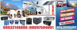 Solar and Inverter Power System