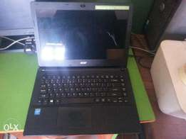 "Acer laptop, slim 15.4""inches"