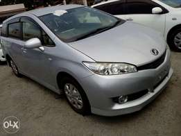 Toyota wish silver color new plate number valvematic engine