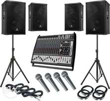 I am a professional DJ with all equips ready to work.