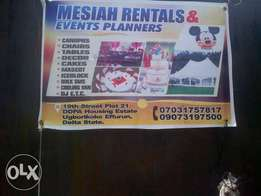 Mesiah Rentals service at bendel estate airport road