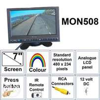 Dashboard tft,bluetooth,reverse camera input,radio input at 6500