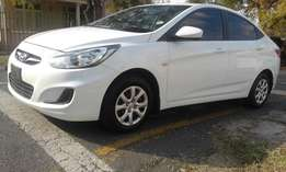 Hyundai Accent 1.6 2014 Fluid Bank Reposed