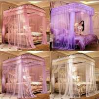 Classy 2 stand mosquito nets.