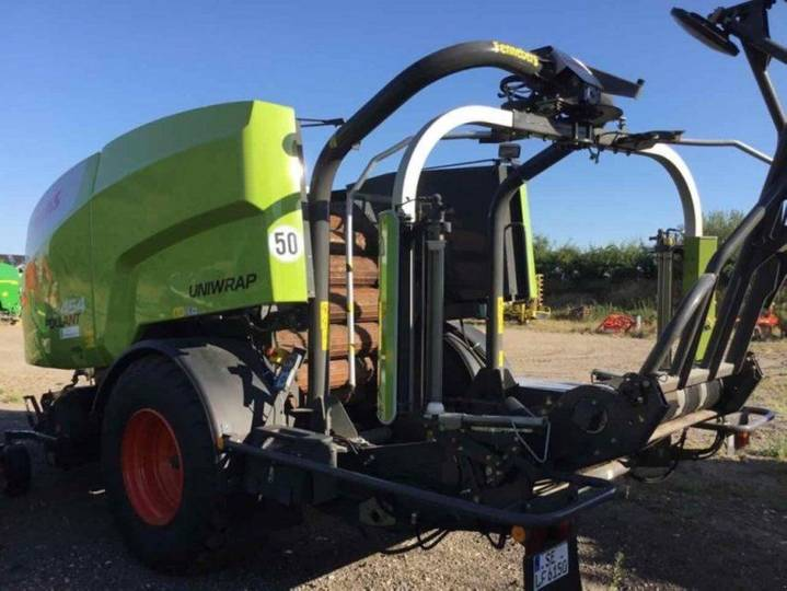 Claas rollant 454 - 2016