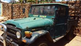 Landcruiser P-up Petrol. Accident free, mobile 1 kick!Needs only paint