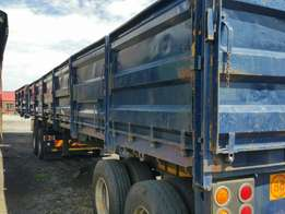 Truck trailers available good working condition