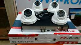 Blast!! Offer!! On a kit/package of 4 Hd cctv.