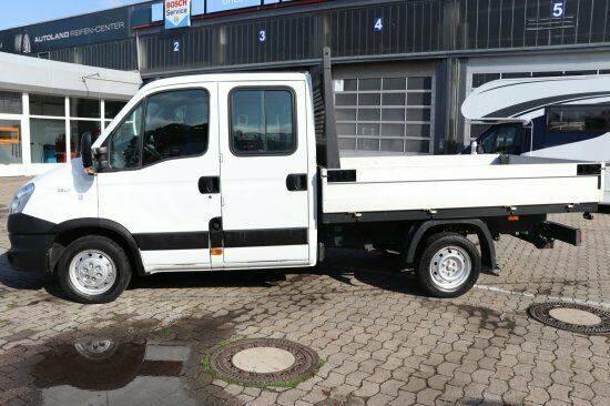 Iveco Daily  29L11D Doppelkabine Pritsche mit  Alu Pri - 2013