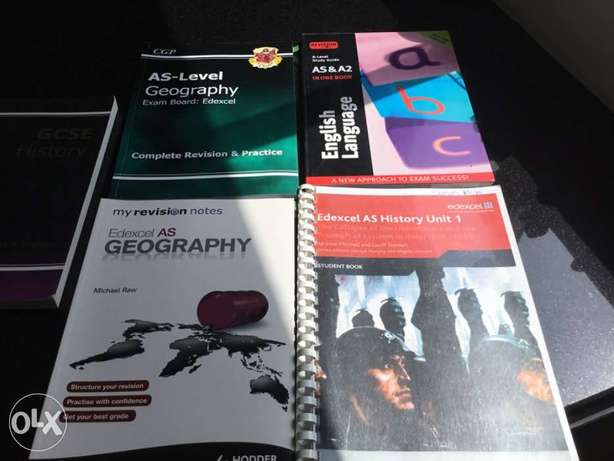 REDUCED UK Study Guides (AS-Level). Cheap to clear.