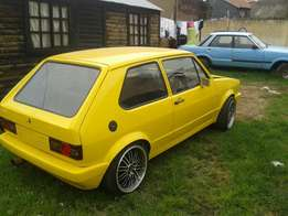 VW golf only for this weekend 25k