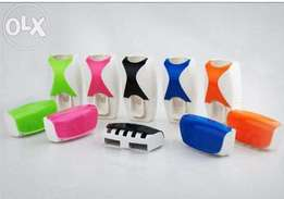 Fashion Toothpaste Dispenser With brush holder