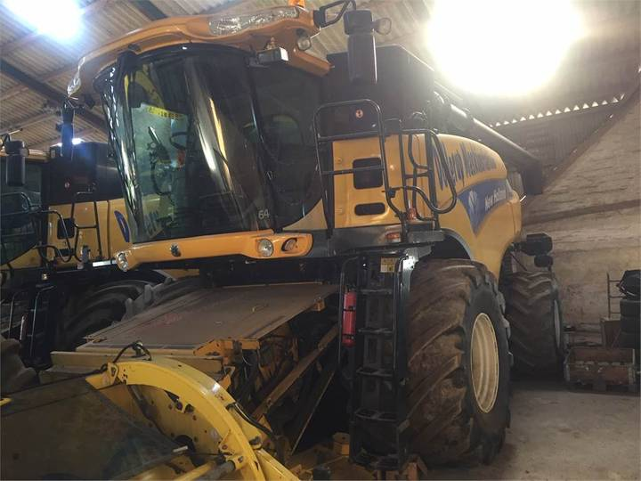 New Holland Cr9080 Slh 30 Fod - 2007