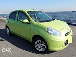 Buy This Clean Green MARCH, 2010, 1200cc, for Only Kes 510,571