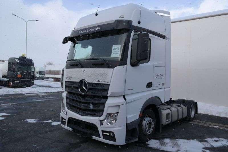 Mercedes-Benz Actros 1848 Lsnrl Euro 6 Low Deck - 2014