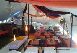 MASSIVE SPRING SALE ON!! Bedouin Stretch Tents at Resource Events