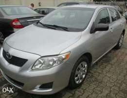 Tokunbo Toyota Corolla Model 2010 Silver Colour