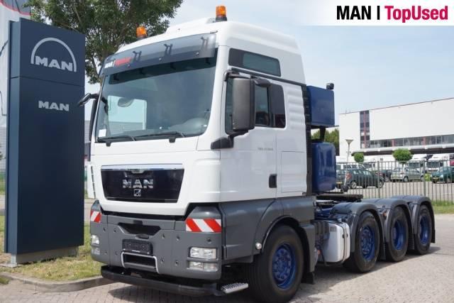 MAN TGX 41.540 8X4/4 BLS Intarder - 2012