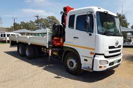 Nissan double axle UD460 with Rigid & 17.5